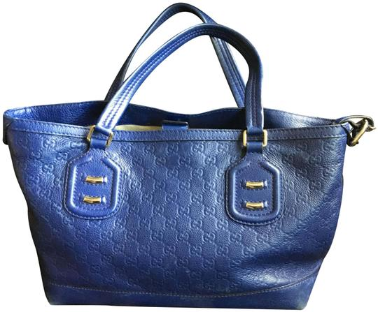 Preload https://item4.tradesy.com/images/gucci-royal-guccissma-blue-leather-tote-22498893-0-1.jpg?width=440&height=440