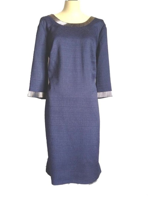 Preload https://img-static.tradesy.com/item/22498900/adrianna-papell-blue-navy-a-line-embellished-neck-large-short-cocktail-dress-size-10-m-0-0-650-650.jpg