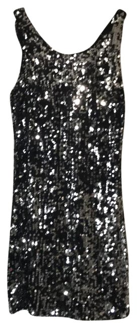Preload https://item2.tradesy.com/images/forever-black-and-silver-short-cocktail-dress-size-8-m-22498911-0-1.jpg?width=400&height=650