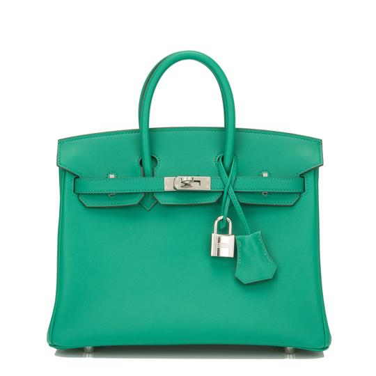 Preload https://item1.tradesy.com/images/hermes-birkin-swift-25cm-palladium-hardware-vert-vertigo-green-leather-satchel-22499010-0-0.jpg?width=440&height=440