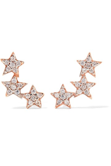 Preload https://img-static.tradesy.com/item/22499098/rose-gold-and-topaz-three-star-gold-plated-crawler-earrings-0-0-540-540.jpg