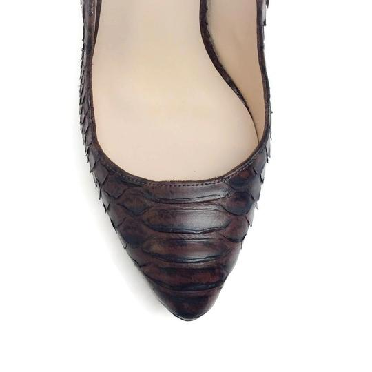 Julia Haart Brown Pumps