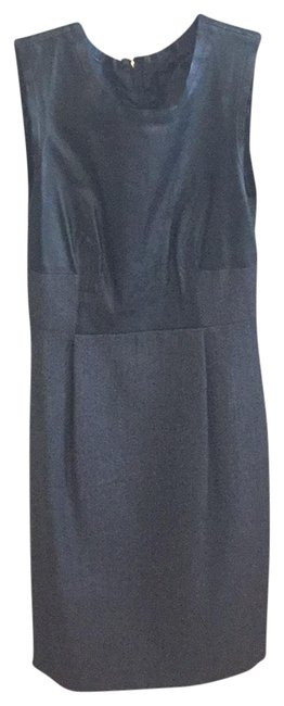 Preload https://item2.tradesy.com/images/jcrew-black-collection-leather-and-wool-sheath-short-workoffice-dress-size-0-xs-22499121-0-1.jpg?width=400&height=650