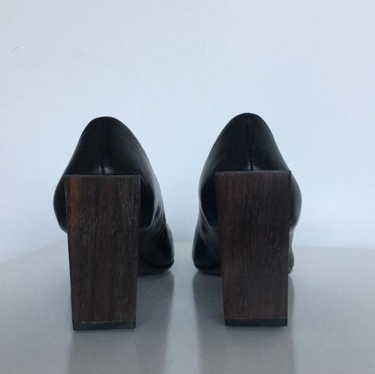 United Nude Wood Heel Black Pumps