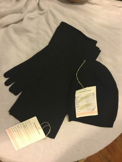Ann Taylor 100% Cashmere Infinity Scarf, Hat , and Glove Set