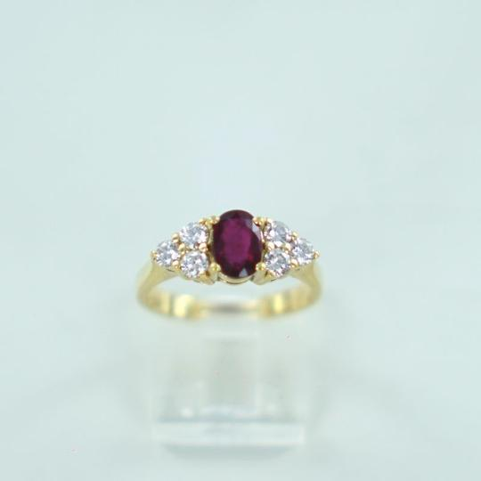 Preload https://item2.tradesy.com/images/red-18kt-yellow-gold-diamond-ruby-60atw-ring-22499331-0-0.jpg?width=440&height=440