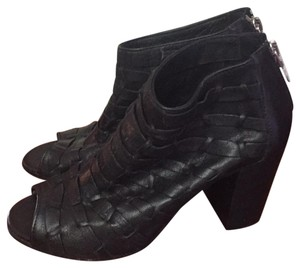 Cordani Leather Black Boots
