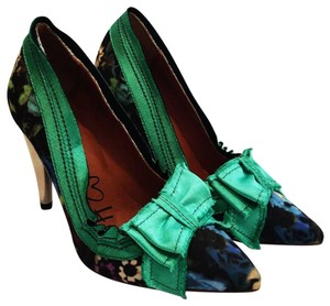 Lanvin Green Pumps