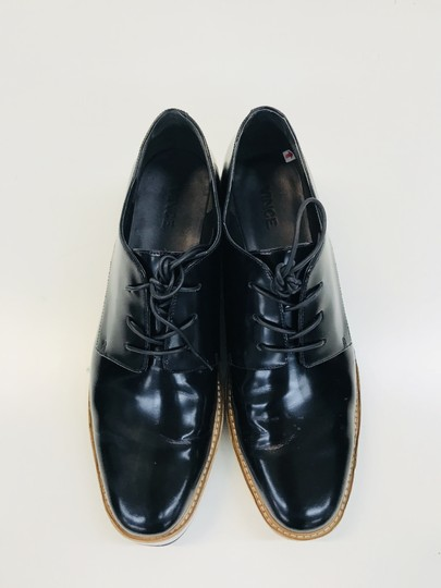 Vince Reed Oxford Black Platforms