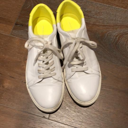 Zara white yellow Athletic
