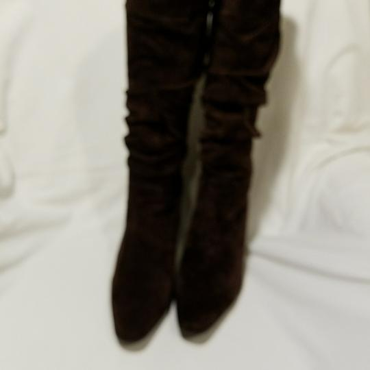 Bass Suede Brown Boots