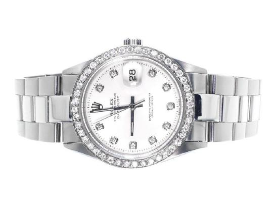 Preload https://img-static.tradesy.com/item/22499606/rolex-stainless-steel-mens-datejust-oyster-diamond-with-215-ct-watch-0-0-540-540.jpg