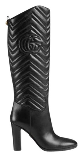 Preload https://img-static.tradesy.com/item/22499627/gucci-matelasse-leather-bootsbooties-size-eu-375-approx-us-75-regular-m-b-0-4-540-540.jpg