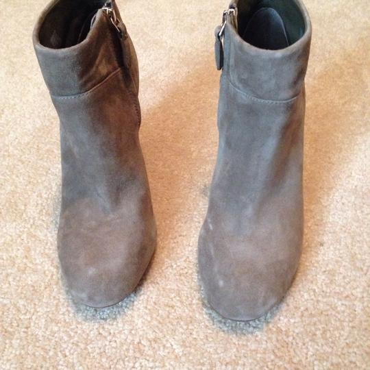 Tory Burch Putty Gray Boots