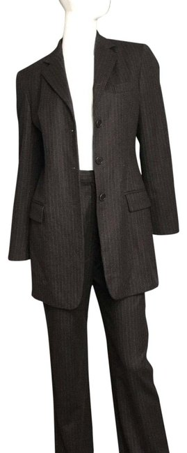 Preload https://item3.tradesy.com/images/max-mara-striped-pant-suit-size-6-s-22499672-0-1.jpg?width=400&height=650