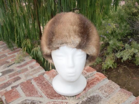 Germany Unisex Muskrat Fur Hat Imported Germany 22