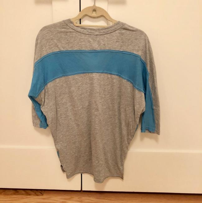 Free People T Shirt Gray/blue