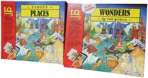 I.Q. Games I.Q. Games: Famous Places + Wonders of the World Educational Fun - NEW
