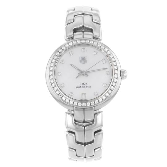 Preload https://item4.tradesy.com/images/tag-heuer-white-mother-of-pearl-link-wat2314ba0956-3450mm-9031-watch-22499748-0-0.jpg?width=440&height=440