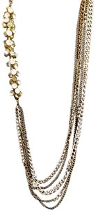 Saks Fifth Avenue Metal link rhinestone studded necklace - Saks 5th Avenue