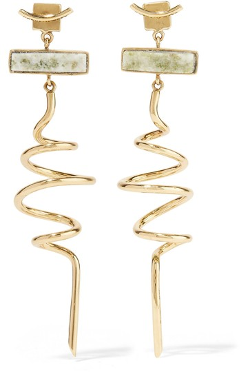 Preload https://item3.tradesy.com/images/gold-gold-plated-marble-earrings-22499802-0-1.jpg?width=440&height=440
