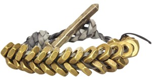 Giles & Brother Giles & Brother Braided Hex Bracelet