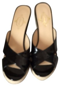 Footcandy Black Sandals
