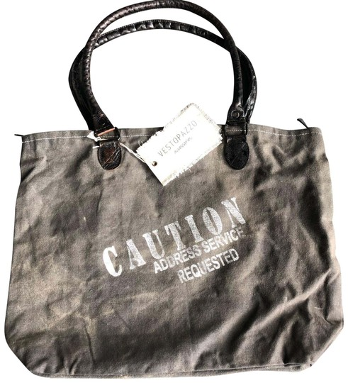 Preload https://item1.tradesy.com/images/italian-sensation-brown-leather-cotton-tote-22499945-0-1.jpg?width=440&height=440