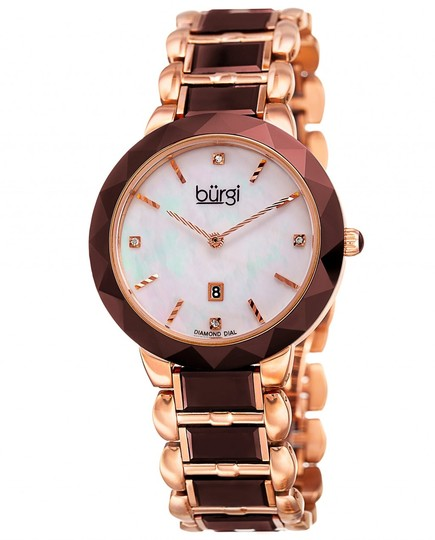 Preload https://img-static.tradesy.com/item/22499971/burgi-rose-tone-unisex-bracelet-b-147-watch-0-0-540-540.jpg