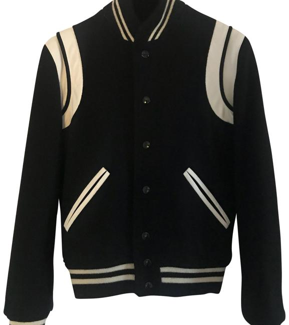 Preload https://item1.tradesy.com/images/saint-laurent-black-wool-teddy-bomber-motorcycle-jacket-size-4-s-22500030-0-1.jpg?width=400&height=650