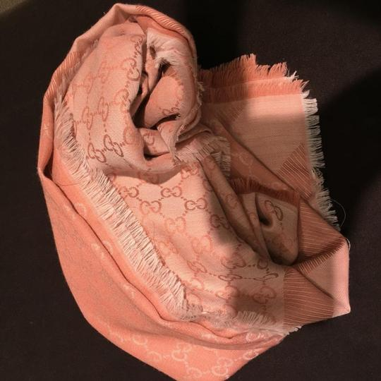 Gucci silk and wool blend scarf
