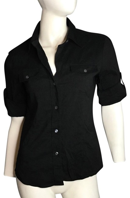 Preload https://item4.tradesy.com/images/theory-button-up-blouse-size-4-s-22500113-0-1.jpg?width=400&height=650