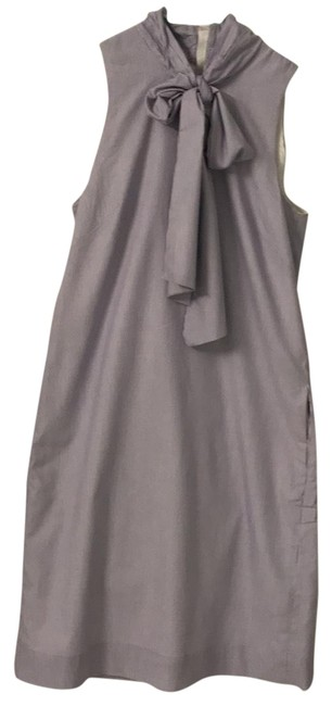 Preload https://item1.tradesy.com/images/banana-republic-blue-and-white-tall-mid-length-workoffice-dress-size-4-s-22500120-0-1.jpg?width=400&height=650