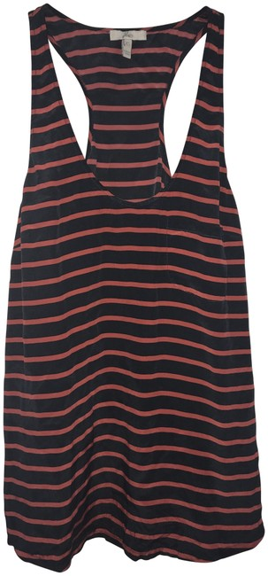 Preload https://item1.tradesy.com/images/joie-navydark-red-silk-striped-tank-topcami-size-2-xs-22500145-0-1.jpg?width=400&height=650