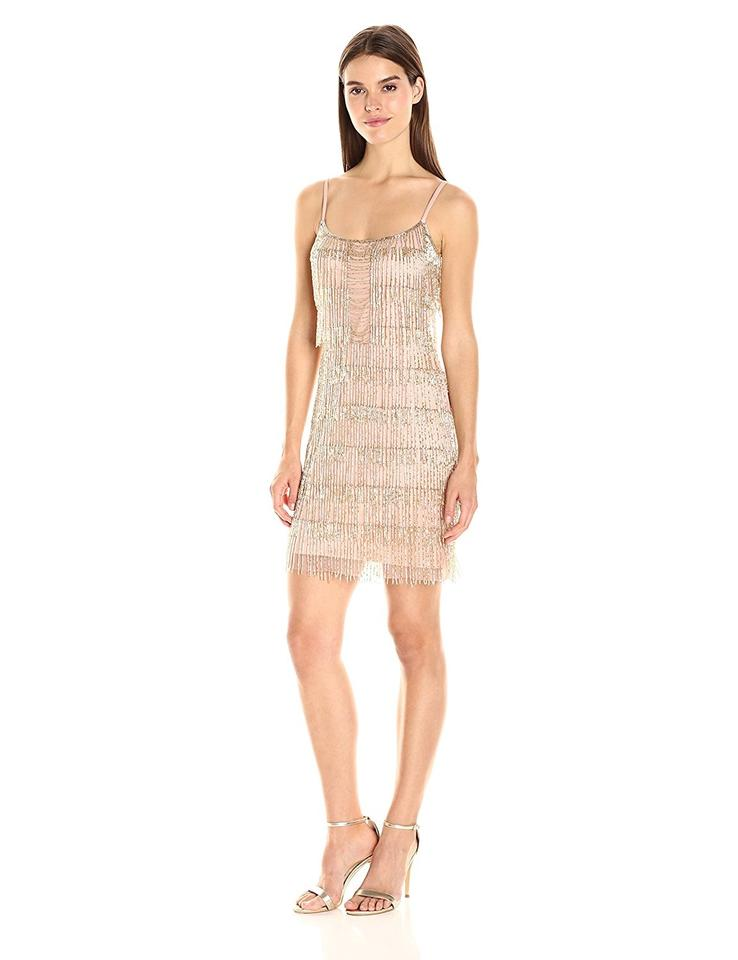 Adrianna Papell Rose Gold Item #04192169 Short Cocktail Dress Size 6 ...