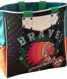 Double D Ranchwear Brave Pvc Texas Tote in Multi