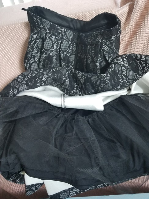 Karl Lagerfeld Paris Night Out Date Night Skirt Black Lace