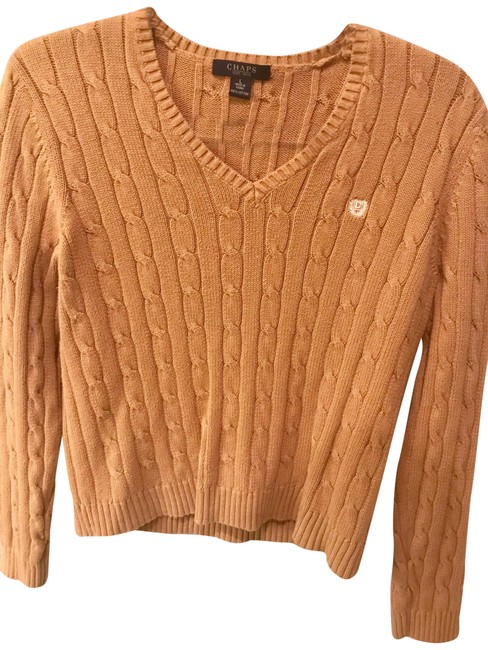 Preload https://item5.tradesy.com/images/chaps-brown-sweaterpullover-size-12-l-22500194-0-1.jpg?width=400&height=650
