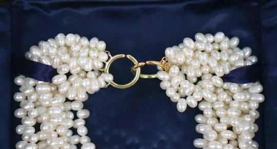 Tiffany & Co. TIFFANY & CO PALOMA PICASSO FRESHWATER PEARL 8 STRAND NECKLACE