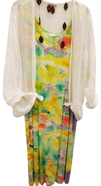 Preload https://img-static.tradesy.com/item/22500259/jams-world-multicolor-koi-pond-janice-long-casual-maxi-dress-size-2-xs-0-1-650-650.jpg