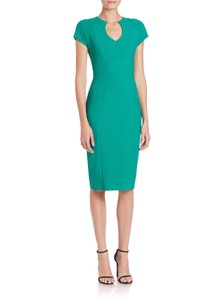 Black Halo Date Night Office Holiday Crepe Dress