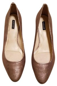 Alex Marie Taupe Wedges