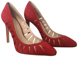 Zara Red Pumps