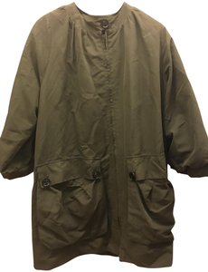 Top Shop Boutique Raincoat Army Green Jacket