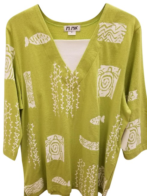 Preload https://item4.tradesy.com/images/apple-green-honu-turtle-print-tunic-size-18-xl-plus-0x-22500423-0-1.jpg?width=400&height=650