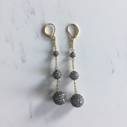 BaubleBar Pave Bubble Drop Earrings