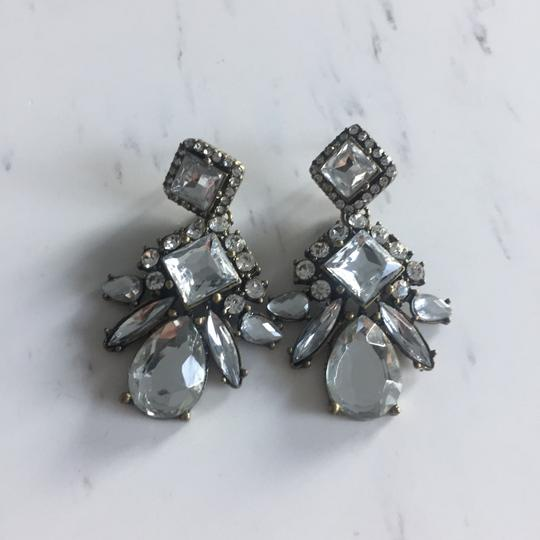 BaubleBar Vintage crystal drop earrings