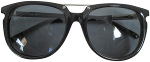Linda Farrow for 3.1 Phillip Lim Linda Farrow 3.1 Phillip Lim PL53 Dark Gray Wayfarer Sunglasses