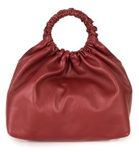The Row Satchel in red