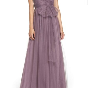 Jenny Yoo Lilac Tulle Annabelle Feminine Bridesmaid/Mob Dress Size 2 (XS)